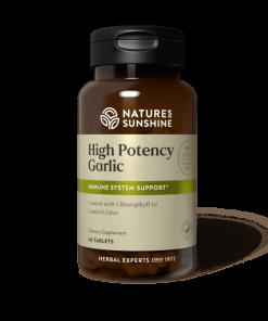 Nature's Sunshine High Potency garlic
