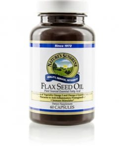 Nature's Sunshine Flax Seed Oil