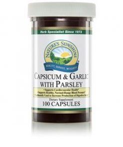 Nature's Sunshine Capsicum & Garlic