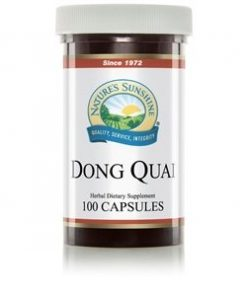 Nature's Sunshine Dong Quai Label