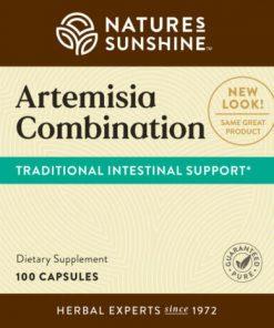 Nature's Sunshine Artemisia Combination Label