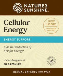 Nature's Sunshine Cellular Energy label