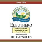 Nature's Sunshine Eleuthero Label