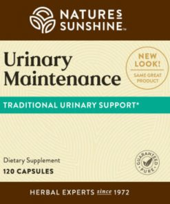 Nature's Sunshine Urinary Maintenance Label